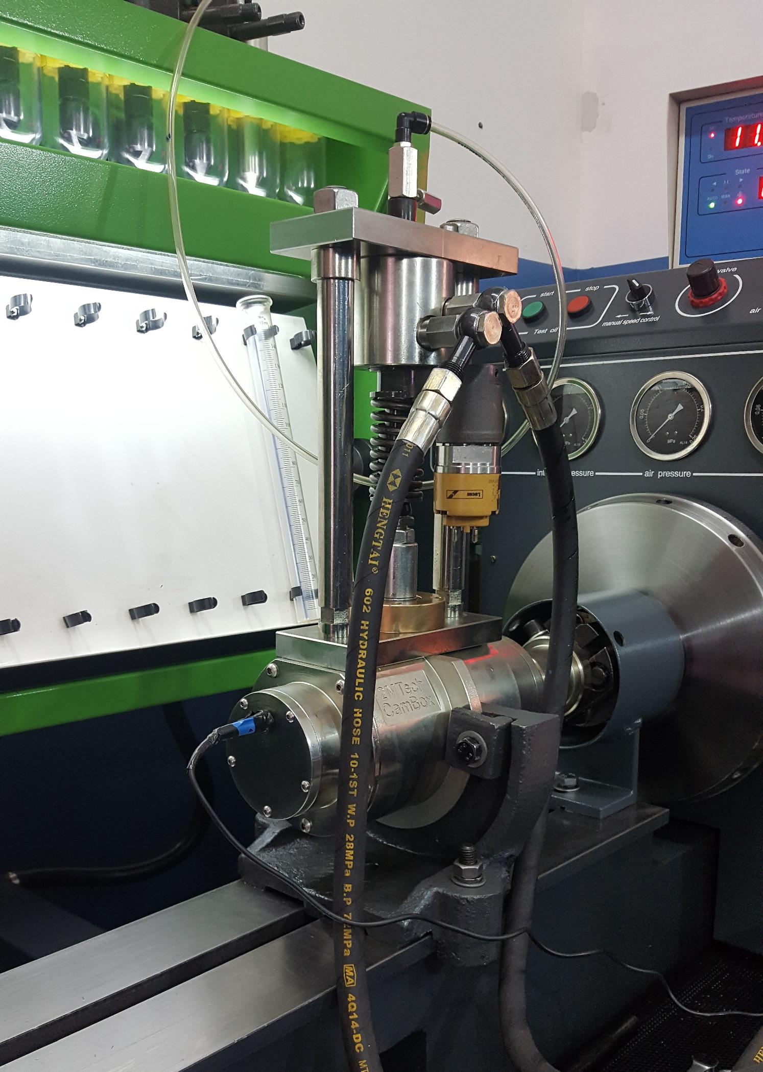 Reparación de sistemas de inyección a Diesel electrónico y convencional